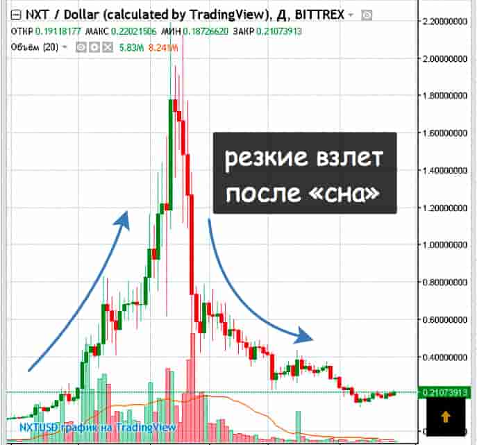 Какую криптовалюту купить Некст